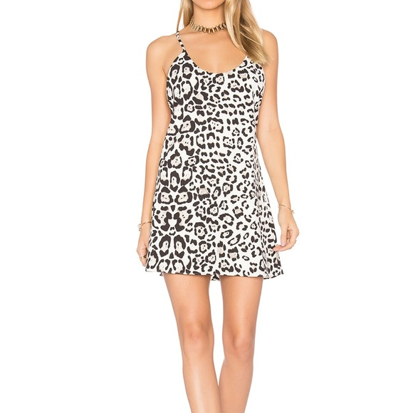 Majorelle Moi et Toi Dress in Leopard